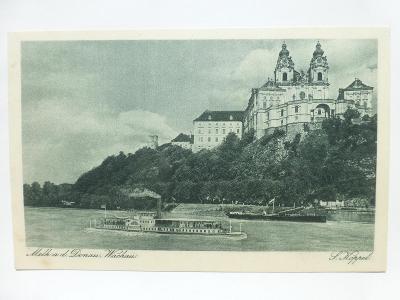 Rakousko - Melk, Wachau - parník