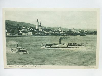 Rakousko - Stein, Krems, Donau - parník
