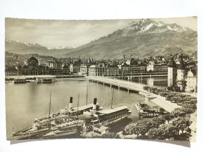 Švýcarsko - Lucern - parník