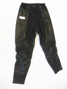 Kožené kalhoty dámské- vel. L/40, pas: 68 cm