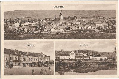 DOBŘANY - náměstí - pivovar - Plzeň-jih