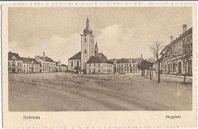 DOBŘANY - náměstí - Plzeň-jih