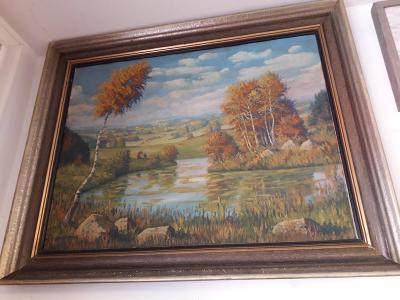Olej na plátně Jirotka