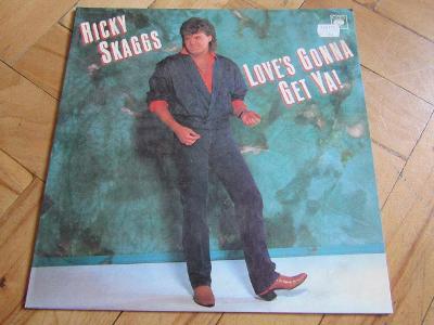 Vinyl gramofonová deska velká RICKY SKAGGS CCA 1980