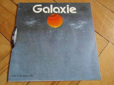 Vinyl gramofonová deska malá GALAXIE 1987