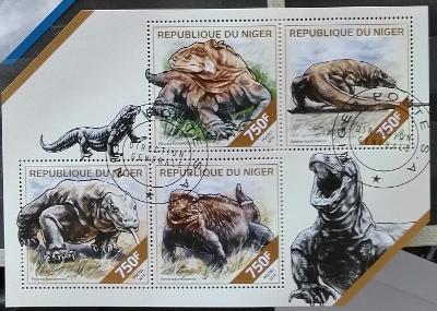 Niger 2014 - CTO aršík, fauna Nigeru, varani, ještěři, plazi
