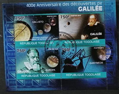 Togo 2010 - CTO aršík, G. Galilei, osobnosti vědy, vesmír