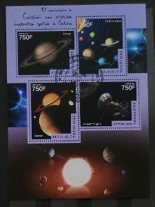Togo 2014 - CTO aršík, vesmír a planety Sluneční soustavy