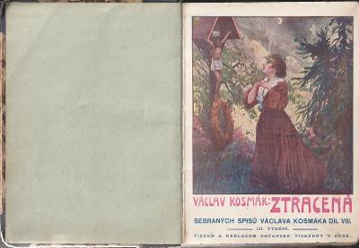 Václav Kosmák: Ztracená, 1922