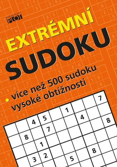 Extrémní sudoku - více než 500 sudoku vysoké obtížnosti