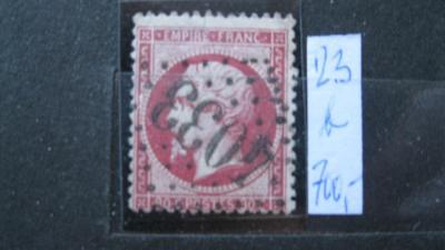 Francie - razítkovaná známka katalogové číslo 23 b