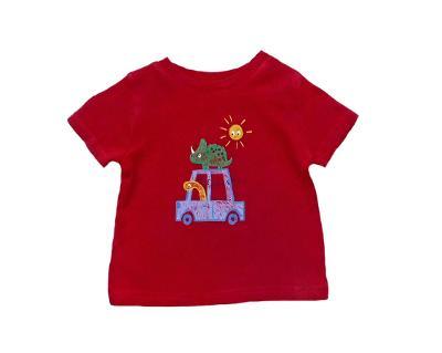 Obrázkové tričko z bavlny George 0-3m