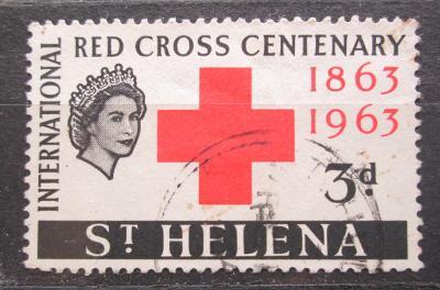 Svatá Helena 1963 Červený kříž Mi# 161 2033
