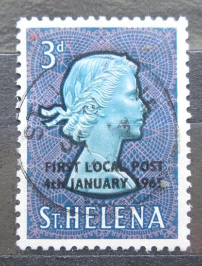 Svatá Helena 1965 Královna Alžběta II. přetisk Mi# 164 2033 - Filatelie