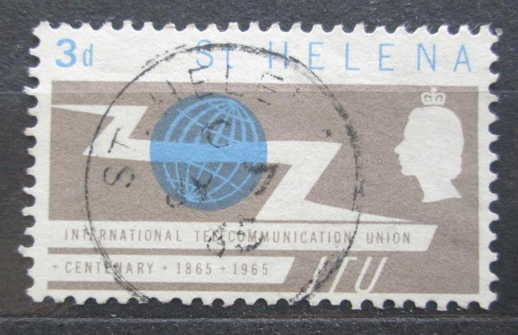 Svatá Helena 1965 ITU, 100. výročí Mi# 167 2033 - Filatelie