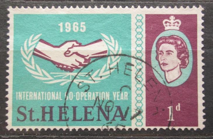 Svatá Helena 1965 Rok mezinárodní spolupráce Mi# 169 2033 - Filatelie