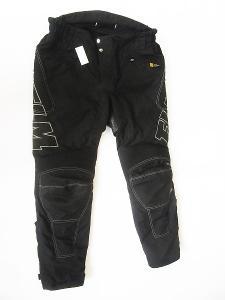 Textilní kalhoty zkrácená verze FLM- vel. 27, pas: 98 cm
