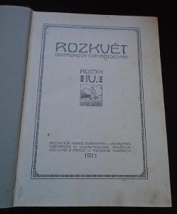 Svázaný časopis Rozkvět 1911/703 str...(11351)