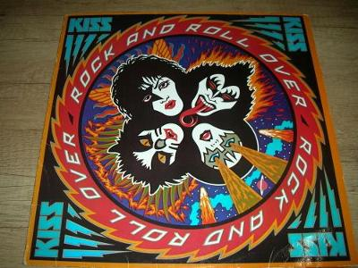 Kiss – Rock And Roll Over (1977) 1 .Press ,EX+