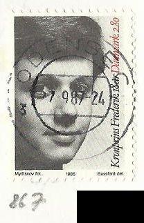 Dánsko, razítkované, r.1986, Mi. 867