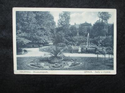 Opava / Troppau - Museumpark, pr. 1931
