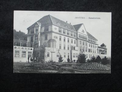 Jevíčko - Sanatorium, pr. 1931