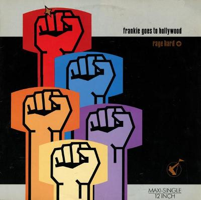 "LP- Frankie Goes To Hollywood - Rage Hard (12""Maxi singl)´1986 TOP HIT"