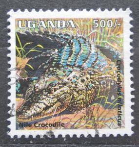 Uganda 1995 Krokodýl nilský Mi# 1541 1989