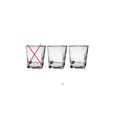 Sada sklenic na whisky CARRE 3 x 310 ml - Nekompletní ( BC 129 Kč )