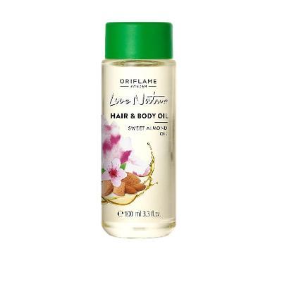 Mandlový olej na tělo a vlasy Love Nature Oriflame