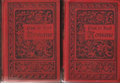 P. de Kock: Ausgewählte Romane, Band 6-10+11-15, 1910, 2ks pěkný stav!
