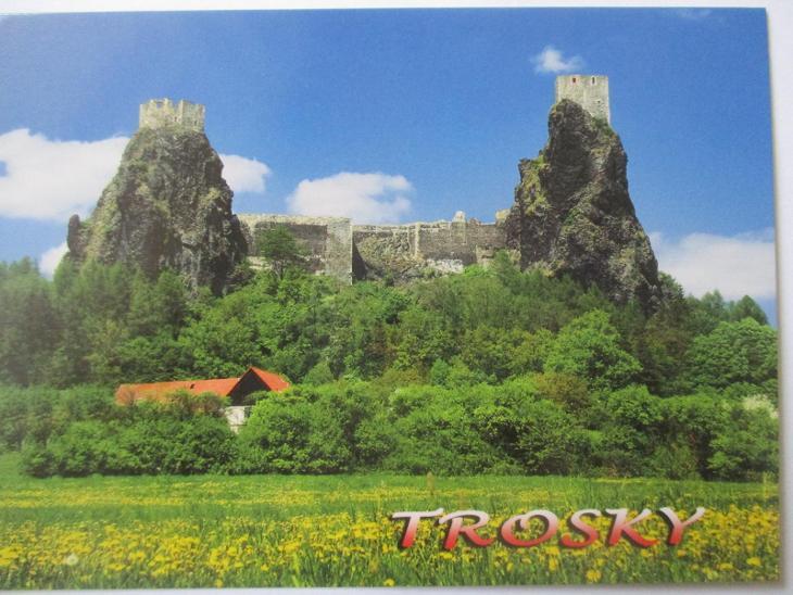 Trosky  - Pohlednice