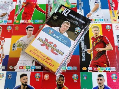 Fotbalové karty Panini Adrenalyn XL UEFA Euro 2020 : Sada 30.ks !