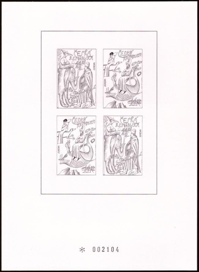 POF. PTR 2 - PŘÍLEŽITOSTNÝ TISK EUROPA CEPT 1994 - MARCO POLO (S430) - Filatelie