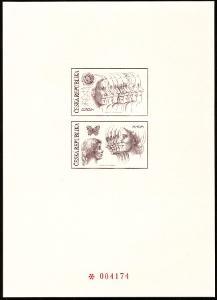 POF. PTR 3 - ČERNOTISK EUROPA CEPT 1995 Z ROČNÍKOVÉHO ALBA (S431)