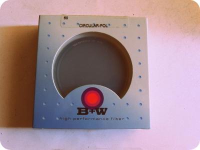 Kvalitní foto filtr - B+W - 60 -  cirkulárně polarizační - doprodej