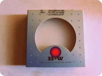 Kvalitní foto filtr - B+W - 82 - MRC  UV filter - doprodej