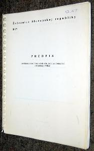 ŽSR D17 PREDPIS PRE HLÁŠENIE A VYŠETROVANIE NEHODOVÝCH UDALOSTÍ 1999
