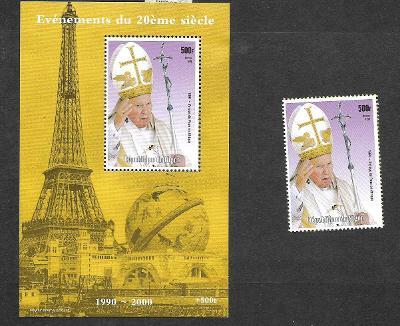 Niger - papež Jan Pavel II.
