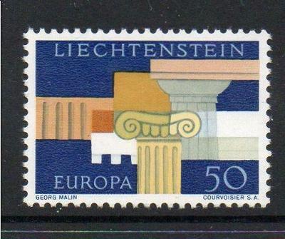 Lichtenštejnsko 1963 Evropa CEPT Mi# 431 1961
