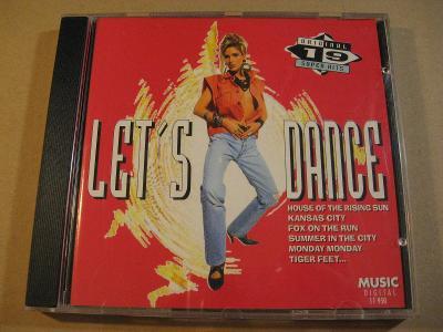 LET´S DANCE 19 SUPER DISCO HITS  1995 DE CD