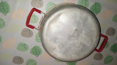 Starý Kastrol. Hrnec - 12cm hliník