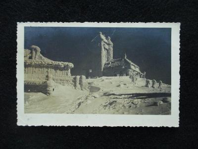 Ještěd v zimě, pr. 1937