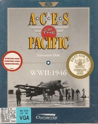 ***** Aces of the pacific WWII 1946 expansion ***** (PC) VELKÁ KRABICE