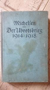 Ponorková válka 1914-1918-německá-mapa-super kniha