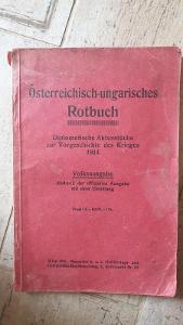 Rakousko-Uherská diplomatická červená kniha 1914