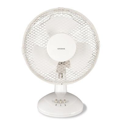 Ventilátor stolní Orava SF-10 bílý.