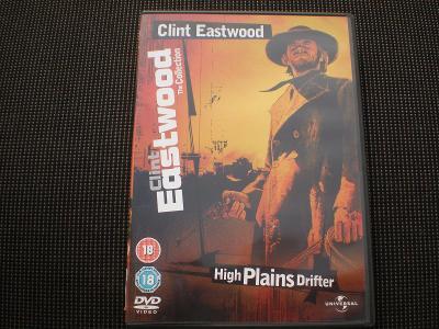 Tulák z širých plání (DVD), režie Clint Eastwood, výtečně zachováno