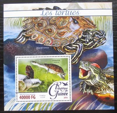 Guinea 2016 Želvy Mi# Block 2629 Kat 16€ 2083
