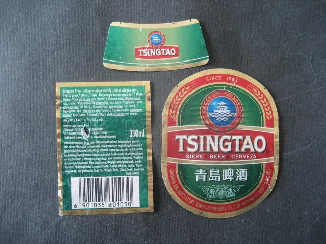 Pivní etiketa cizina použitá - Nápojový průmysl